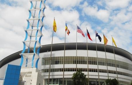 קאוסיונג הוכרזה כמארחת של אליפות העולם העשירית