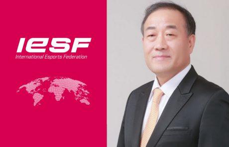 יאנגמן קים מונה לסגן נשיא של IESF