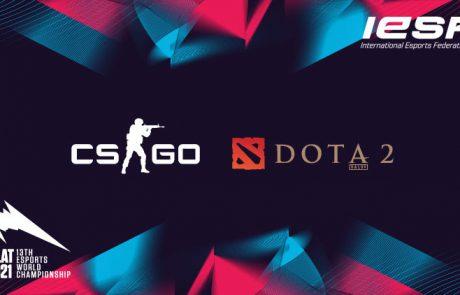 הכותרים DOTA2 ו-CS:GO חוזרים רשמית לאליפות העולם ה-13 של ה-IESF