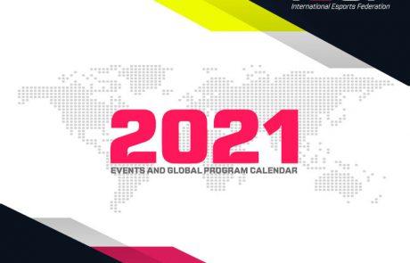 הפדרציה הבינלאומית לספורט אלקטרוני חושפת את לוח השנה של התוכניות הגלובליות שלה לשנת 2021