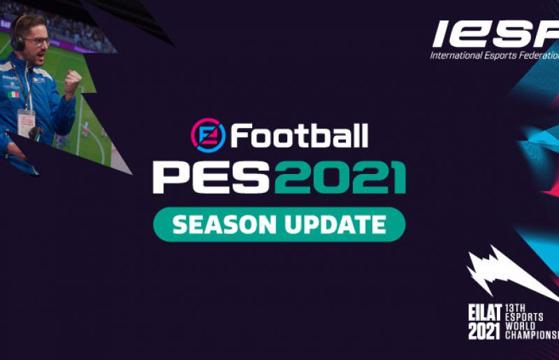 כותר משחק הכדורגל PES חוזר לאליפות העולם ה-13 של ה-IESF